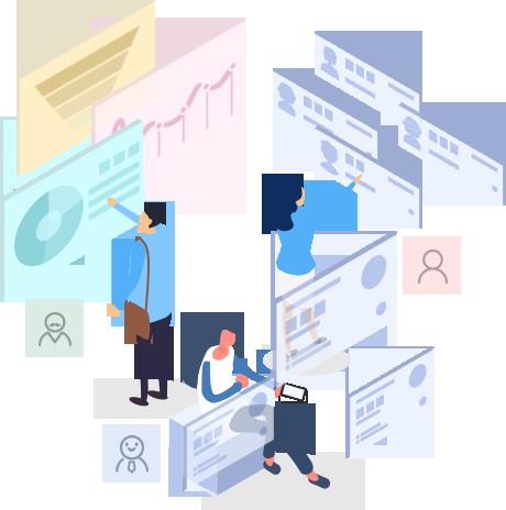 有客多基于微信小程序自主研发的微信销售CRM系统,以客户数据的管理为核心,利用信息科学技术,实现市场营销、销售、服务等活动自动化,并建立一个客户信息的收集、管理、分析、利用的系统,微信CRM系统职责分明,划分控制员工权限