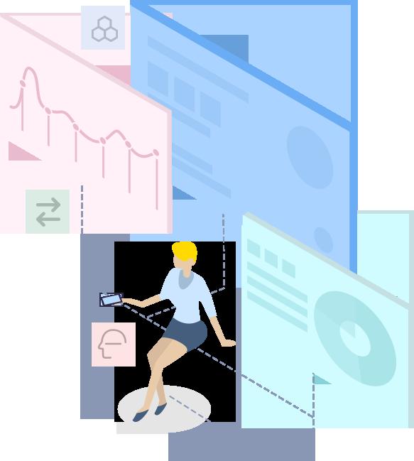 小程序名片,基于微信大平台自主研发的微信电子名片,AI人工智能记录客户的活动轨迹,多维度数据分析,智能客户画像,提升销售转化